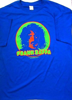 Frank Zappa mens (50/50) short sleeve T-Shirt Art by Dennis Loren-Small