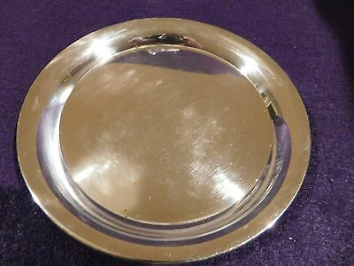 Lunt Sterling Silver Round Tray 95-D