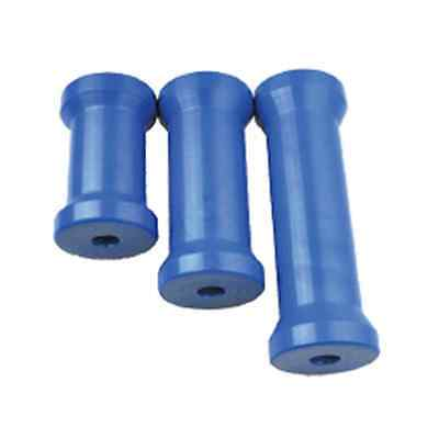 6 Inch Blue Cotton Reel Boat Trailer Keel Roller - BRAND NEW
