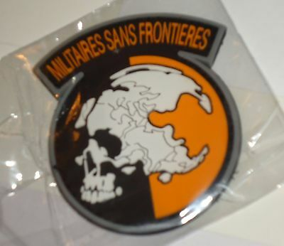 "PVC Tactical Embroidered 2 3/4"" X 2 1/2"" 3D Patch Morale Military Hook & Loop"