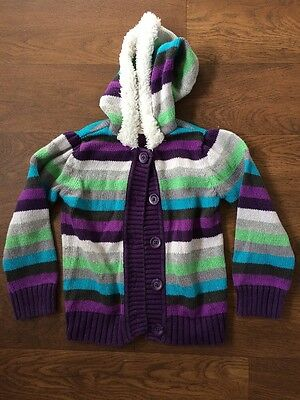 Old Navy girls 4T long sleeve striped cardigan