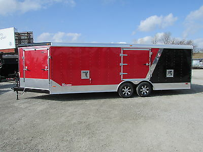 NEW RC 27' Enclosed Auto Snowmobile Trailer LOADED *YEAR END SALE* DR TRAILER*