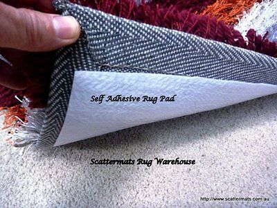 Rug Underlay Non Slip Total Grip Rug Pad Stop Rugs Moving on Carpets