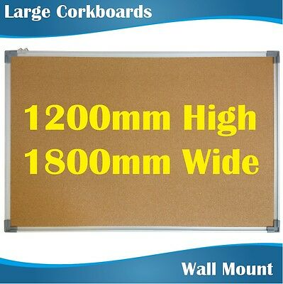 1.8m Widex1.2m High Large Corkboards Pinboards Noticeboards Corkboard Pinboard