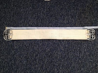 • WB elastic white girth 75cm fair condition