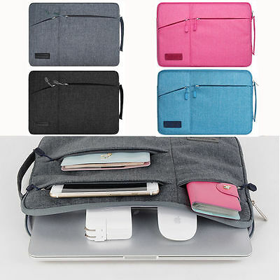 Laptop Sleeve Cover Case Carry Bag Pouch Storage For MacBook Air Pro11 12 13 15""