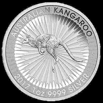 2017 Silver 1oz Kangaroo Bullion Coin – .9999 Purity