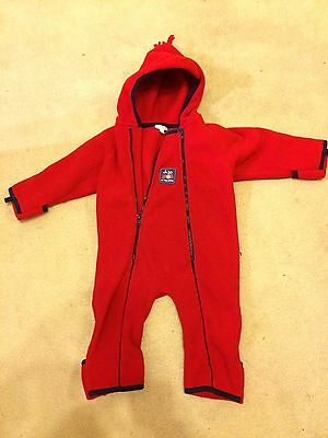 Jo Jo Maman Bebe 2-3 Winter Fleece Suit