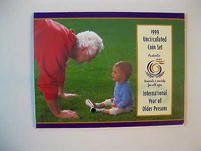 1999 International Year of the Older Persons Coin Set (RARE)