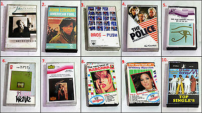 Assorted Original Various Artist Album Cassette Tapes (Batch #21)