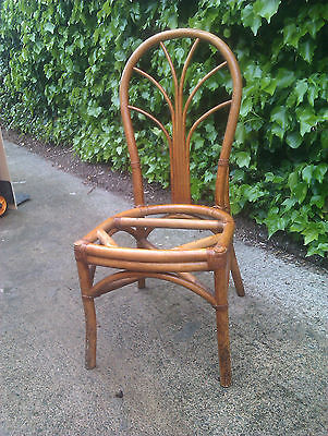 Beautiful bamboo dinning / conservatory / garden / party chairs x4 available