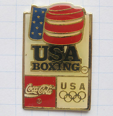 COCA COLA / OLYMPISCHE SPIELE USA BOXING .................. Pin (114d)