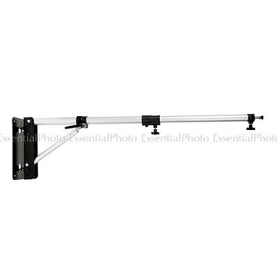 Heavy Duty Wall Mounted Boom Stand (75-125cm) Thicker Diameter Max load 7kg