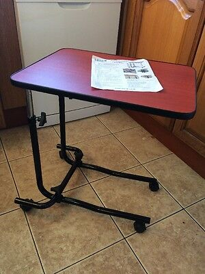 Overbed Overchair Table Wheeled Type NRS healthcare M15691