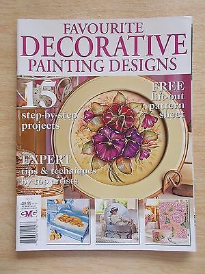 Favourite Decorative Painting Designs #2~Flowers~Teddy~Dog~Book Marks~Santa