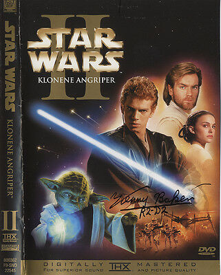 Star Wars - Kenny Baker ' R2D2 ' In Person Signed DVD Cover Autograph