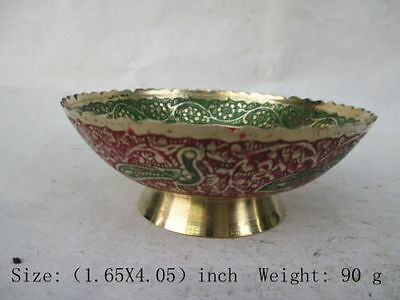 The ancient Chinese classic cloisonne bowl