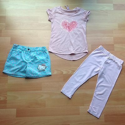 Hello Kitty Shorts Leggings And T-Shirt Set Marks and Spencer and Next 5-6 years
