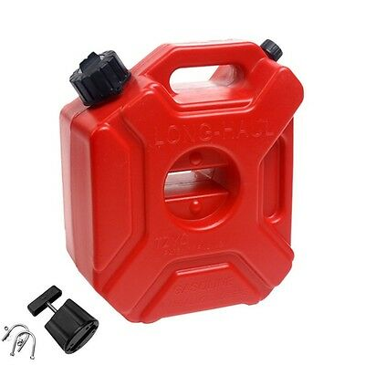 5L Fuel Tank Cans Spare Plastic Petrol Tanks Motorcycle/Car Gas Can Accessory