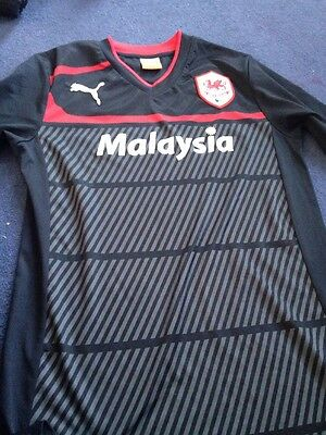 Cardiff City Top Size M Puma