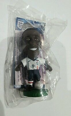 Corinthians prostars Andy Cole England home kit sachet pack mint!