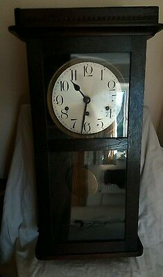 Antique 8 Day Well Clock Westminster China - needs some restoration