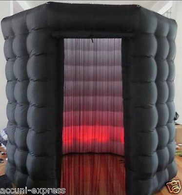 NEW 2016 OCTAGON STYLE Inflatable Professional LED Photo Booth Tent - Weddings S