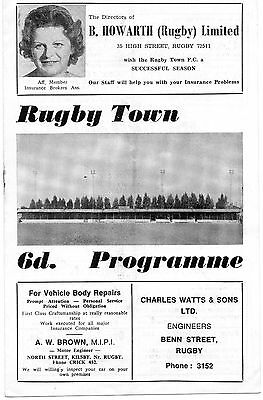 Rugby  V  Tamworth  Mid.fl.cup  1968-69
