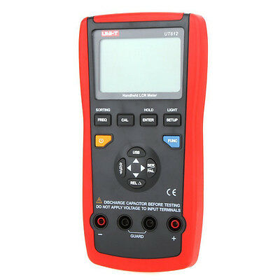 UT612 USB Interface 20000 LCR w/Inductance Frequency Test & Deviation Ratio SP