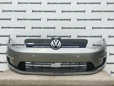 Vw Golf Mk7 Gte Electric Hybrid 2014-2016 Front Bumper In Grey Complete [276]