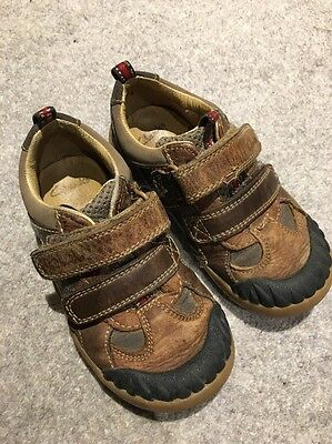 Clarks Toddler Shoes Size 7.5 Boys