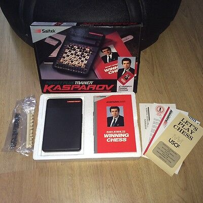 Kasparov Pocket Plus Trainer Chess Training program