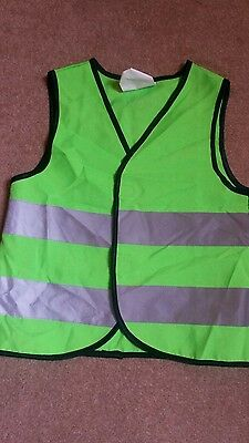 Childs High Visibility / Play Vest Age 3 /6 Years