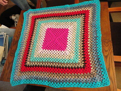 Brand new crochet Dog/Cat blanket for Charity (PDSA)