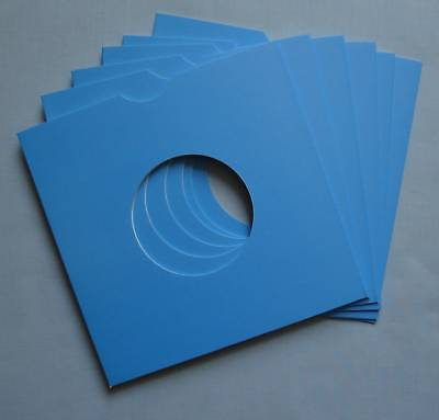 "7"" BLUE CARD RECORD SLEEVES - (pack of 25)"