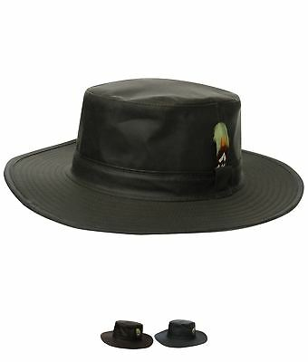OCCASIONE Jack Murphy Waxed Aussie Hat Olive