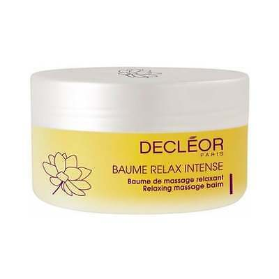 NEW Decleor Relax Intense Relaxing Massage Balm 125ml, Boxed + Free P&P