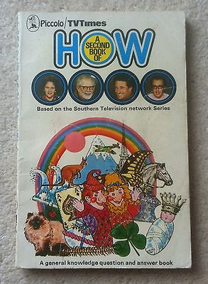 A Second Book of How by Pan Macmillan (Paperback, 1974)