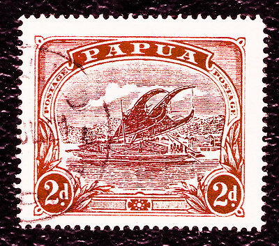 PAPUA NEW GUINE : 1916 Lakatoi issue  2d Stamp Number PG 63