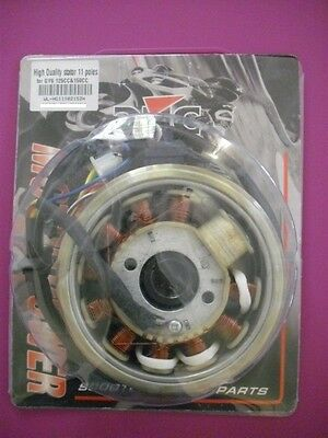 SCOOTER GY6 125CC 150CC HIGH QUALITY Magneto Stator 11 POLE FLYWHEEL