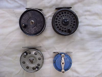 A Collection Of Vintage Fishing Reels