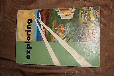 BSA Boy Scout Exploring Book VINTAGE 1958 EDITION NO RESERVE GREAT BOOK !!!!!!!!