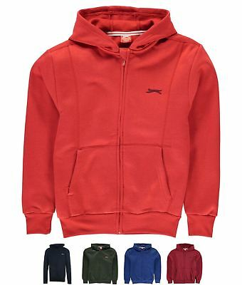 OCCASIONE Slazenger Full Zipped Hoody Junior Red
