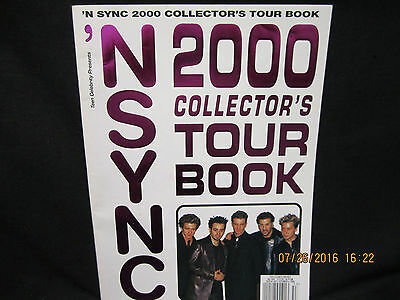NSYNC 2000 Collectors' Tour Book