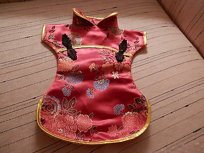 Chinese Suit Wine Bottle Cover