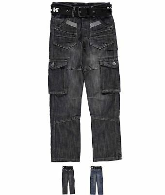 DI MARCA Airwalk Dark Wash Jeans Junior Dark Wash