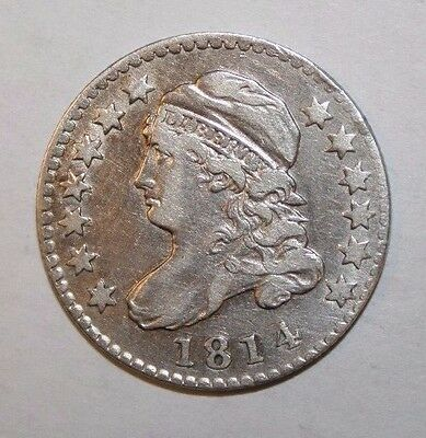 1814 Large Date Bust Silver Dime P54