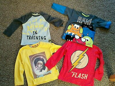 2-3 years old boys bundle t-shirts