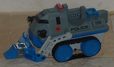 Rokenbok RC Classic Police Defender vehicle