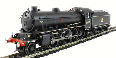R3242 Hornby Black BR 62015 Early Crest 2-6-0 Class K1 Locomotive - New & Boxed